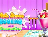play Milkshake Cooking And Decoration