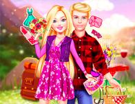 play Barbie Hiking Date