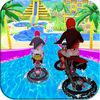 play Water Slide Bike Racing