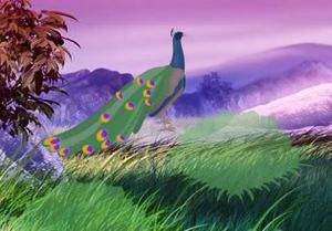 play Peacock Fantasy Forest Escape