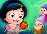 play Baby Hazel Snow White Story