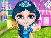 play Baby Elsa In Disneyland