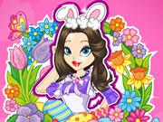 Easter Cutie Dress Up game