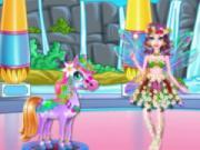 play Fairy Horse Braided Hairstyles