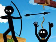 play Bow Master Stickman Hero