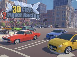 play 3D City: 2 Player Racing