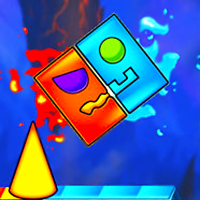 play Fire And Water Geometry Dash