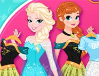 play Princesses Outfits Swap