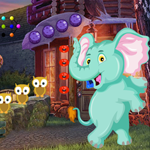 Funny Elephant Rescue 2 game