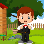 Handsome Waiter Boy Rescue game
