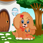 Cute Little Dog Rescue game