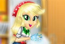 play Applejack Great Cleaning