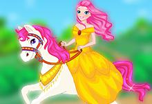 play Princess On White Horse