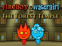 play Fireboy And Watergirl Forest Temple