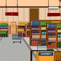 play Grocery-Supermarket-Escape-Knfgame