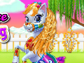 Fairy Pony Horse Mane Braiding Salon game