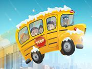 play New Winter School Bus Parking