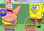 play Spongebob And Patrick Star Washing Pants