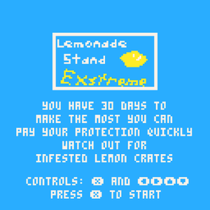 Lemonade Stand Extreme game