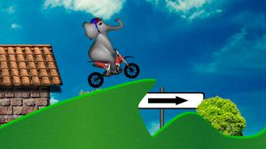 Elephant Bike game