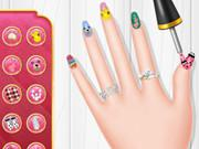 play Princess Spring Nail Design