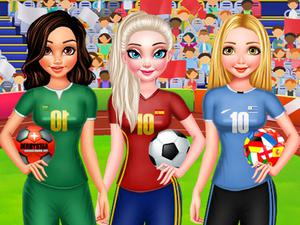 play Bff Princess Vote For Football 2018