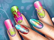 play Floral Realife Manicure