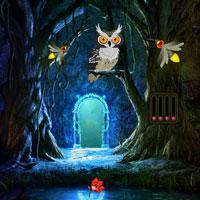 play Escape-From-Fireflies-Magical-Forest-Wowescape
