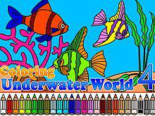 play Coloring Underwater World 4