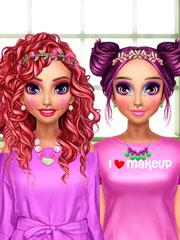 play Bff Pink Makeover