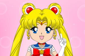 play Sailor Scouts Avatar Maker