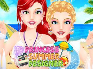 play Princess Summer Designer