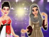 play Chinese Vs Arabic Beauty Contest