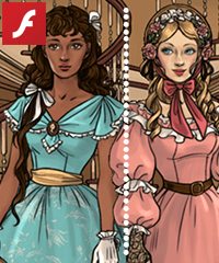 play Southern Belle Dress Up