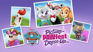 Paw Patrol: Picture Pawfect Dress Up game