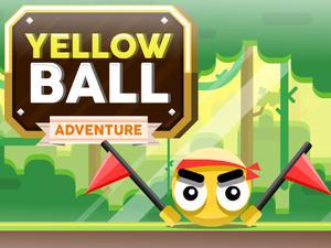 play Yellow Ball Adventure