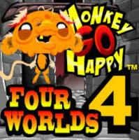 play Monkey Go Happy: Four Worlds 4