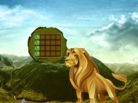 play Big Gold Lion Land Escape