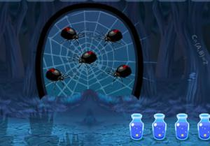 play Black Widow Spider Forest Escape