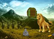 play Gold Lion Land Escape