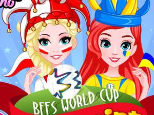 play Bffs World Cup Face Paint