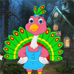 play Cartoon Little Peacock Escape