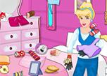 play Princess Cinderella Bedroom Cleaning
