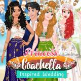 Princess Coachella Inspired Wedding game