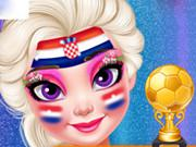 Soccer Worldcup 2018 Face Art game