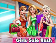 Girls Sale Rush game