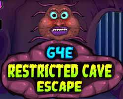 play G4E Restricted Cave Escape