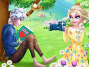 Elsa And Jack'S Love First Encounter game