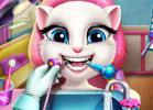 Kitty Real Dentist game