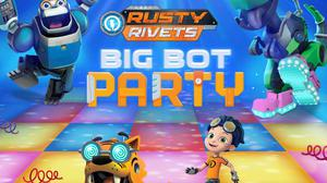 Rusty Rivets: Big Bot Party game